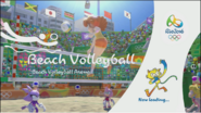 Mario & Sonic Rio 2016 Olympic Games - Beach Volleyball Loading Screen