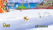 Mario Sonic Olympic Winter Games Gameplay 214