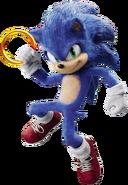 Sonic Film Sonic Artwork 9