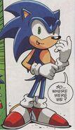 Sonic in Sonic X Comics