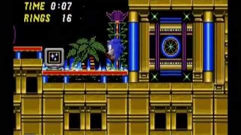 Sonic the Hedgehog 2 Casino Night Act 1