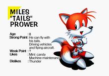 Tails Sonic Jam profile