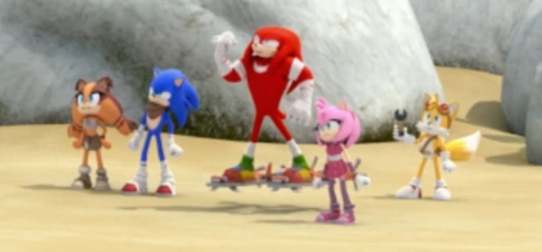 Team Sonic Mirror Dimension