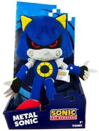 Tomy Collector Series plush 12 inch Classic Metal Sonic