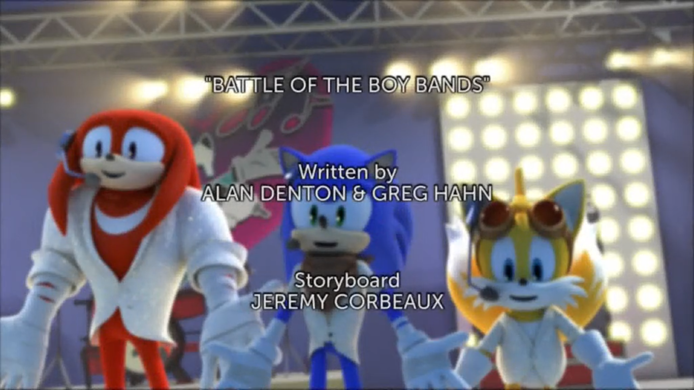 battle of the boy bands sonic news network fandom powered by wikia