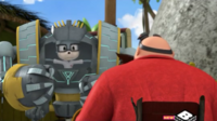 Charlie and Eggman talking