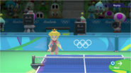 Mario & Sonic at the Rio 2016 Olympic Games - Peach Table Tennis