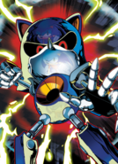 Metal Sonic archie version