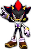 Sonic Rivals 2 - Shadow the Hedgehog costume 3