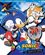Sonic X Complete Blu-ray