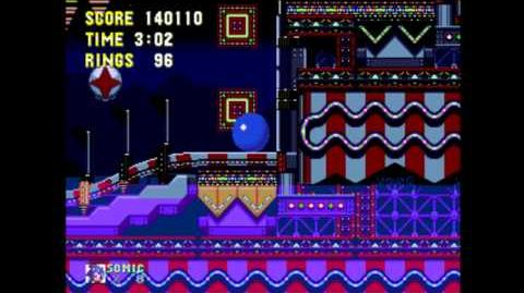 Carnival Night Zone - Gameplay