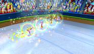Mario Sonic Olympic Winter Games Gameplay 303