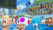 Mario Sonic Olympic Winter Games Opening 16