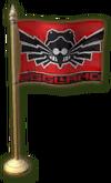 SU Eggmanland Miniature Flag