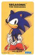 SegaSonic Phonecard 01