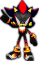 Sonic Rivals 2 - Shadow the Hedgehog costume 2