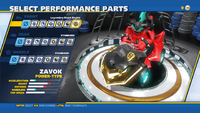 Zavok Legendary Beast Engine Front