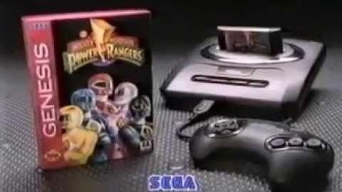 Sega Genesis Power Rangers TV Commercial - Sega Genesis