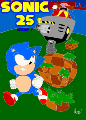 File:Sonic 25 Issue 1 Cover Page.png
