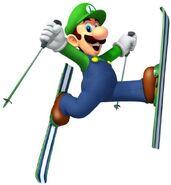 Winter Olympics Luigi 1