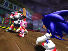 Amy protects Gamma