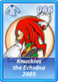 Card 086 (Sonic Rivals)