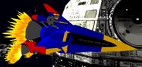 Rocket Metal Sonic rocket form