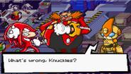 SB EP Knuckles Knux w pułapce