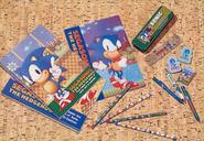 SEGASONIC stationery 1992