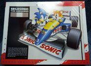 SegaSonic puzzle Sonic and Tails race car box
