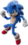 SonicMovie SonicMightyPose