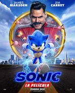 SonicMovie SpanishPoster