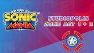 Studiopolis Zone Act 1-2 - Sonic Mania