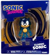 Tomy Collector Series translucent Classic Sonic figure
