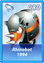 Card 080 (Sonic Rivals)