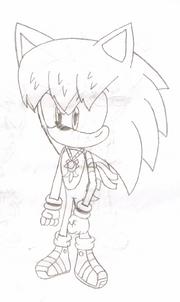 Cesar the Hedgehog's new design