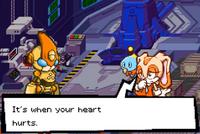 Creams lesson Sonic Battle