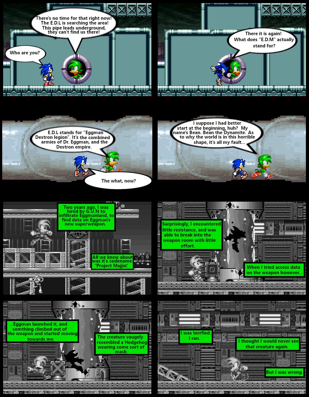 Sonic sprite wars part 12