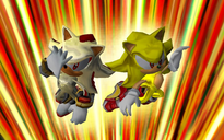 Super Sonic i Super Shadow