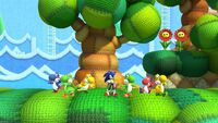 Yoshi's Island Zone - Sonic Lost World