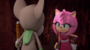 Amy talking to gogaba