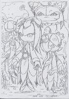 Cosmo y su familia dibujo oficial