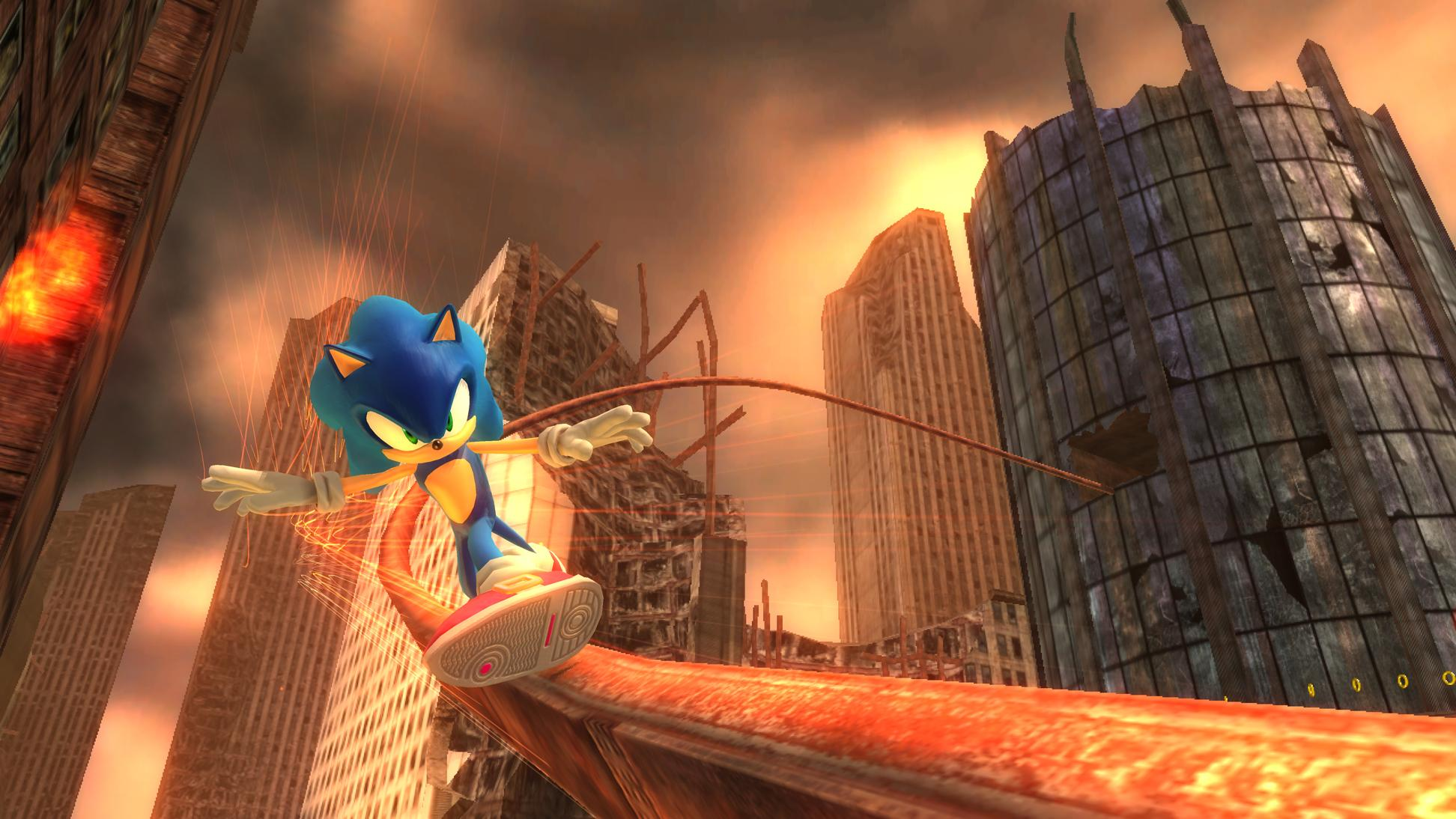 Image result for sonic 06 screenshots