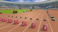 London - Olympic Stadium - Track - 100m Sprint