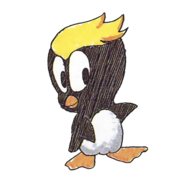 Pecky Tux 1