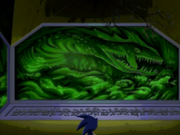 Perfect Chaos mural Sonic X