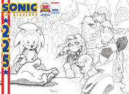 Sonic225 variant cover
