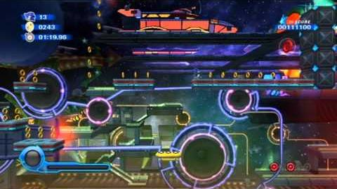 Sonic Colors - Starlight Carnival Act 3 HD