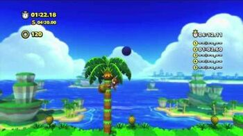 Sonic Lost World Tropical Coast Zone 4 1080 HD
