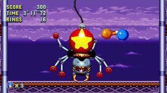 Sonic Mania Boss 8 - Egg Spider